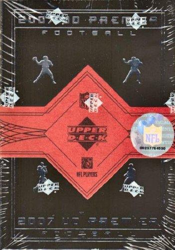 ier Football Cards Hobby Box (2007 Upper Deck Football Cards)