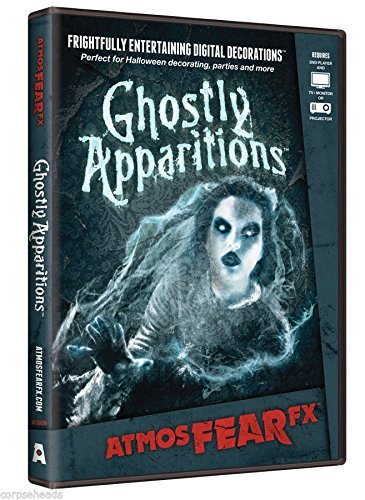Ghostly Apparitions Atmosfearfx DVD Special FX Halloween Prop (Cemetery Fence Halloween Prop)