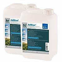 2x 10L AdBlue®–hochreine urea Solución–Gastos de Envío libre–ISO 22241–1/DIN 70070/aus32