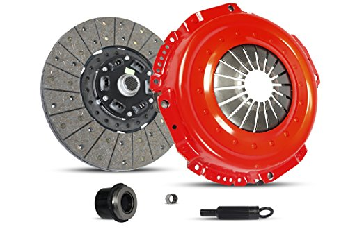 Clutch Kit Works With Dodge Viper SRT-10 ACR GTS R/T-10 GT2 Base Convertible Coupe 1992-2006 8.0L V10 8.3L V10 GAS OHV Naturally Aspirated (Stage 1)