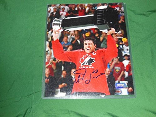 (Bruins Milan Lucic Autographed 8x10 Photo Team Canada)