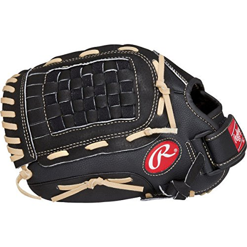 Rawlings RSB Series Baseball Glove, Regular, Slow Pitch, Basket-Web, 12 Inch