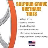 """1 1/2"""" x 18 inch x .090 inch Urethane Band Saw Tire"""