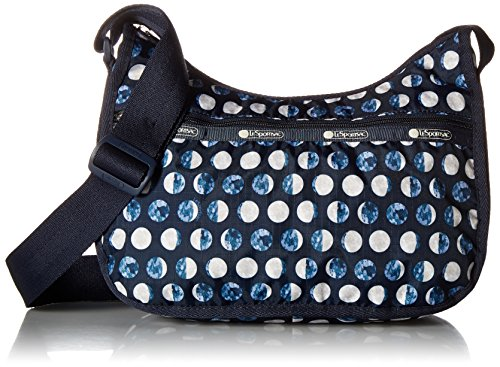 LeSportsac Classic Hobo Handbag, La Luna (Polka Hobo Handbag Dot)