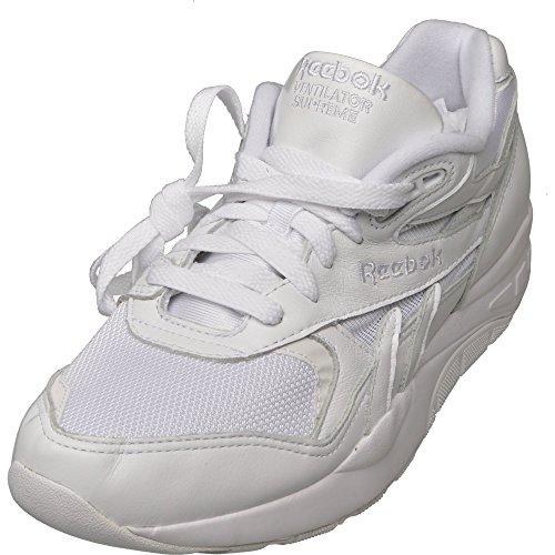 Reebok Ventilator Supreme LTR Leather Sneaker bianco