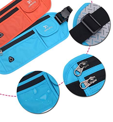 Ciclismo Waist Casual Moda Nylon Smartphone Mini Spalla A Skitor Donna Running Marsupio Blu Bag Tracolla Outdoor Leggero Borsa Viaggio Impermeabile Uomo Zaino Sport Monospalla 4wzTp