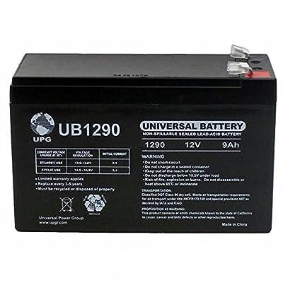12V 9Ah SLA Battery Replacement for Stanley J6BS 300 Amp Jump Starter