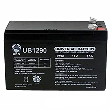 12V 9Ah SLA Battery Replacement for Tycon UPS-DC1218-9 Outdoor UPS System