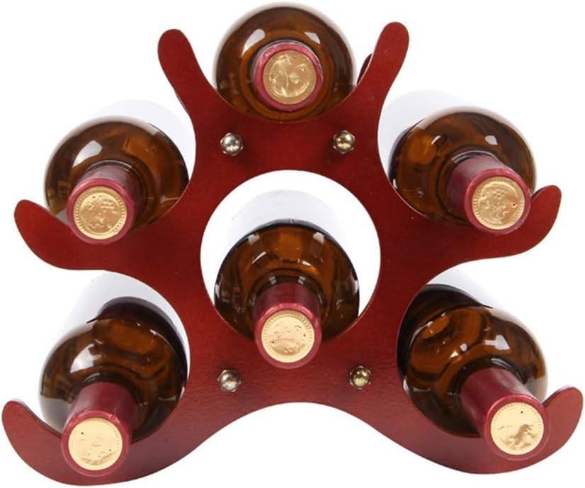クリエイティブソリッドウッドワインラック装飾ワインボトルラックホームワインラックリビングルーム装飾ワインラック