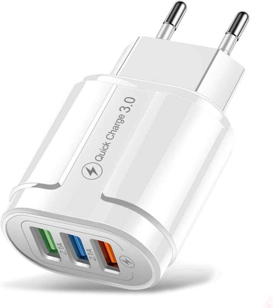 Cargador rápido Seeds con 3 puertos USB por sólo 4,88€ usando el #código: TZNNK9B5