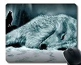 Gaming Mouse Mat,Wolf's Rain Gaming Mousepad Mat