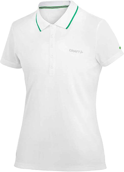 Craft in-The-Zone Pique Polo-Shirt W para Mujer Blanco Blanco ...