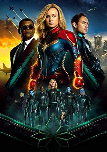 Desconocido Captain Marvel Póster Foto Oficial Cartel de ...