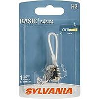 Bombilla de niebla halógena básica SYLVANIA H3, (contiene 1 bombilla)