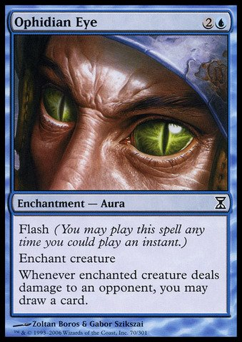 Magic: the Gathering - Ophidian Eye - Time Spiral