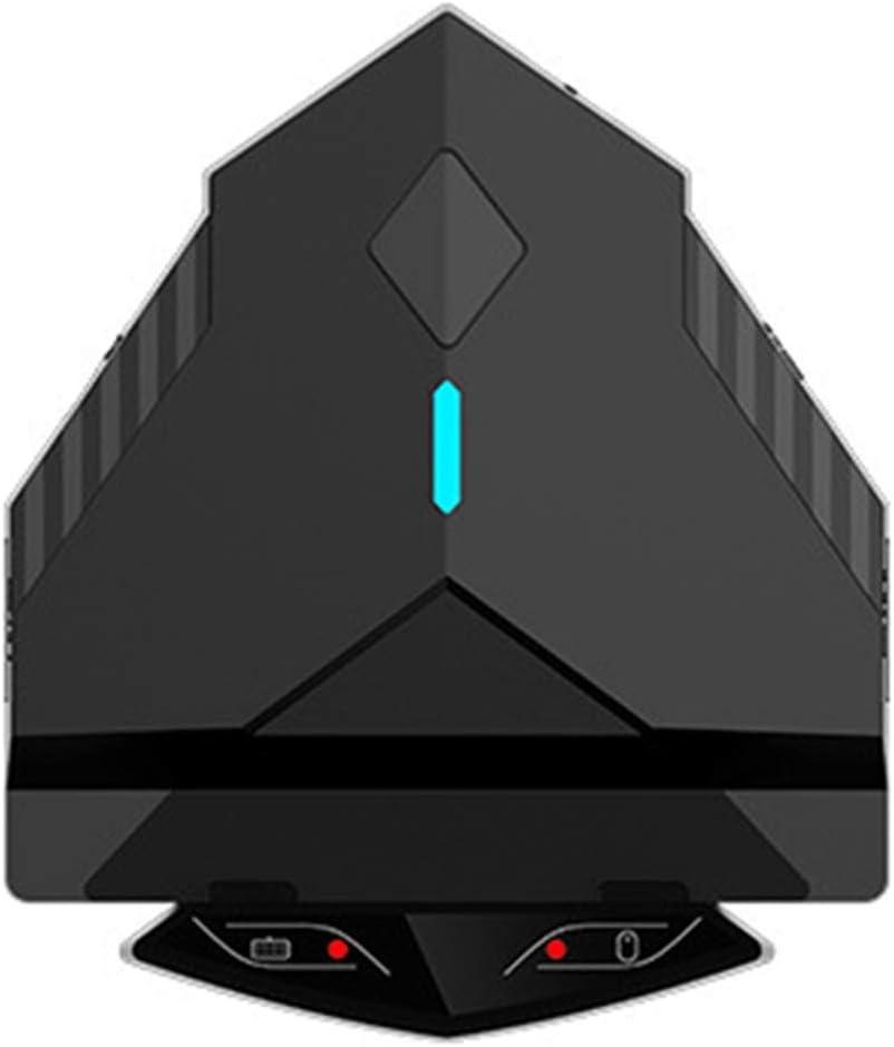 Adaptador de Teclado y ratón para Juegos de teléfono móvil, convertidor de Teclado y ratón para Sistema Android, conexión Bluetooth/conexión por Cable(Estándar Lingzha 2)
