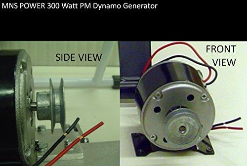 "300 Watt Bicycle Generator 3/8"" Belt Drive Pedal Power Pu..."