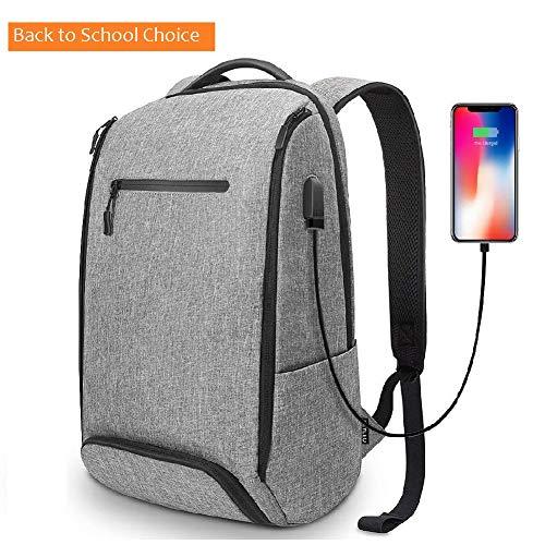 468ccbcf78ee Backpack REYLEO Backpack for Men Fits 15.6 Inch Laptop