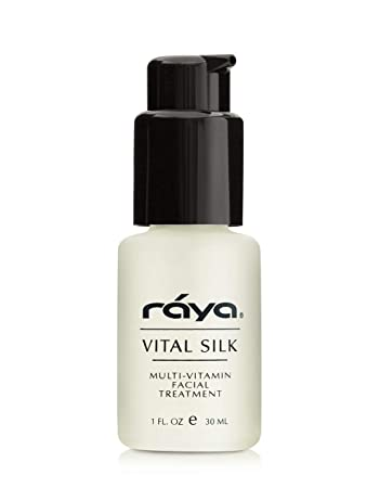 RAYA Vital Silk Serum 509 Multi-Vitamin Facial Treatment for All Non-Sensitive Skin Beginning to Age Softens and Smooths Complexion Protects From Environmental Damage