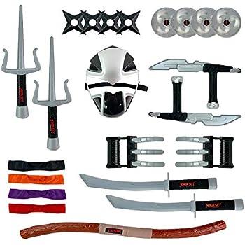 Amazon.com: Ninja Warrior - Disfraz con accesorios para ...