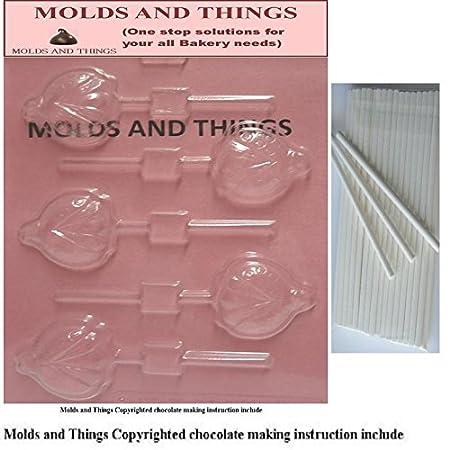 Moldes y cosas de flores de diseño de oveja y caracol moldes para ...