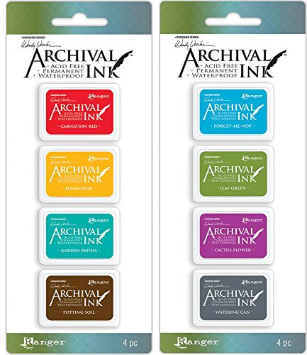 Which are the best archival ink pads for rubber stamps available in 2019?