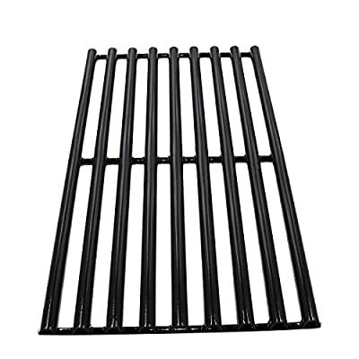 Hisencn 61753 Porcelain Steel Grill Parts Cooking Grid grates Replacement for Brinkmann 810-1750-S, 810-1751-S 810-3551-0 Gas Grill Models, Set of 3