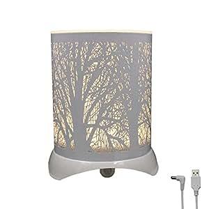 Amazon.com: Glovion Árbol Patterned Luz Nocturna LED PIR ...