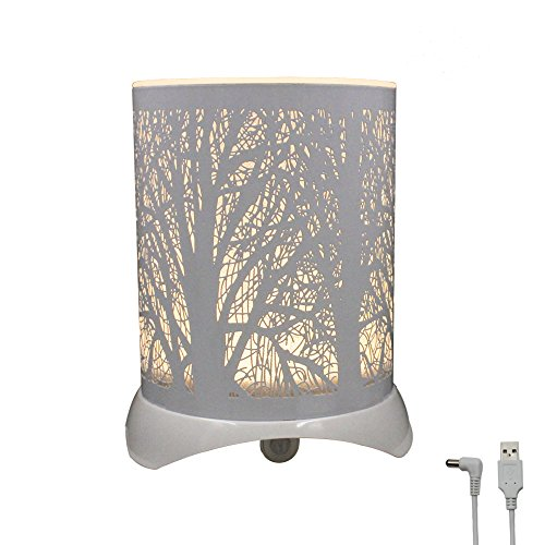 Glovion Tree Patterned Night Light -LED PIR Sensor Table Decorative Art Light LED Night Lamp for Home Décor