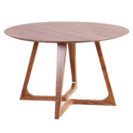 side table Tavolo E Sedie in Legno Massello, Tavolo da ...
