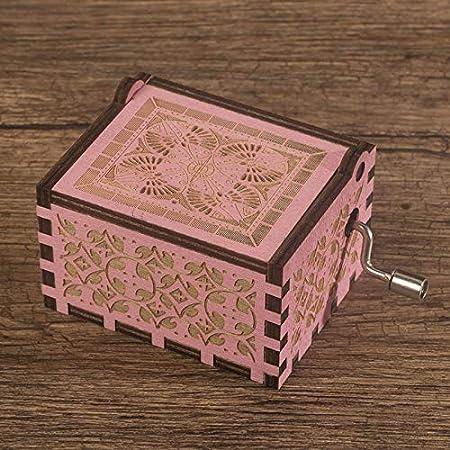 Caja De Música Sky City Hand Harry Potter Christmas Music Box Saidar Legend Rosa: Amazon.es: Hogar