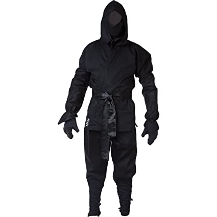 Blitz Ninja Traje – Negro, 4/170 cm