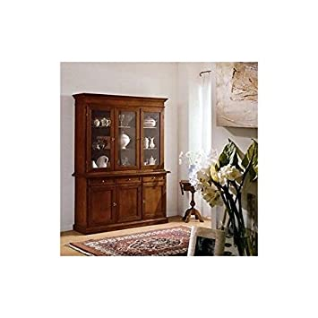 MOBILE CREDENZA VETRINA ARTE POVERA SUPER PREZZO: Amazon.it ...