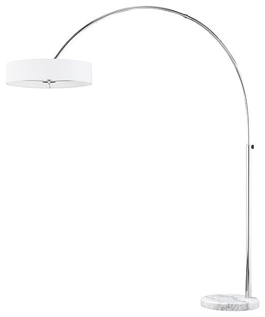 16 opinioni per Trio Lighting 421100301 Lampada da terra ad arco diffusore, altezza 205 cm, Ø 50