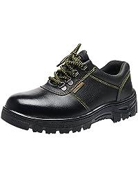 Eclimb Men's Soft Stride Steel-Toe Breathable Work Shoe