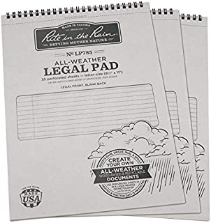 """product image for Legal Pad, 8-1/2 x 11"""" Sheet Size, PK3"""
