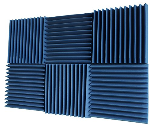 6-pack-all-ice-blue-acoustic-panels-studio-soundproofing-foam-wedges-2-x-12-x-12