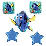 Disney Finding Dory Nemo Balloon Bouquet Birthday Party Supplies Favors (5CT by Toys&Games