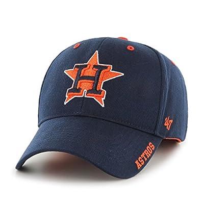 "Houston Astros 47 Brand MLB ""Frost MVP"" Structured Adjustable Hat - Navy"