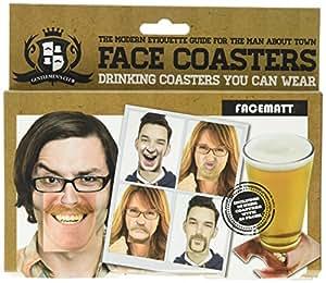 Gentlemans Club Face Coaster