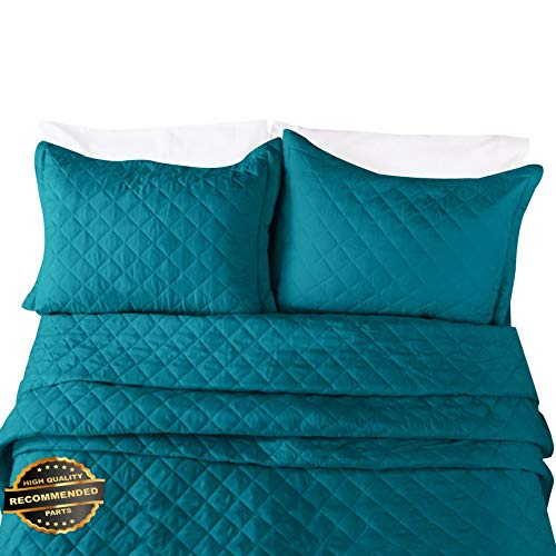Werrox Quilt Set with Shams - All Season Bedspread Coverlet | Full/Queen Size | Quilt Style QLTR-291265624 -