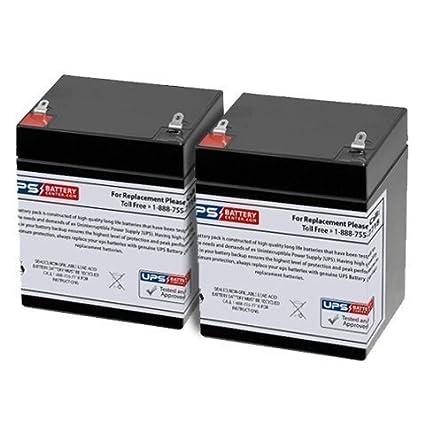 Werker WKA12-5.5F 12V 5Ah F1 Replacement Battery