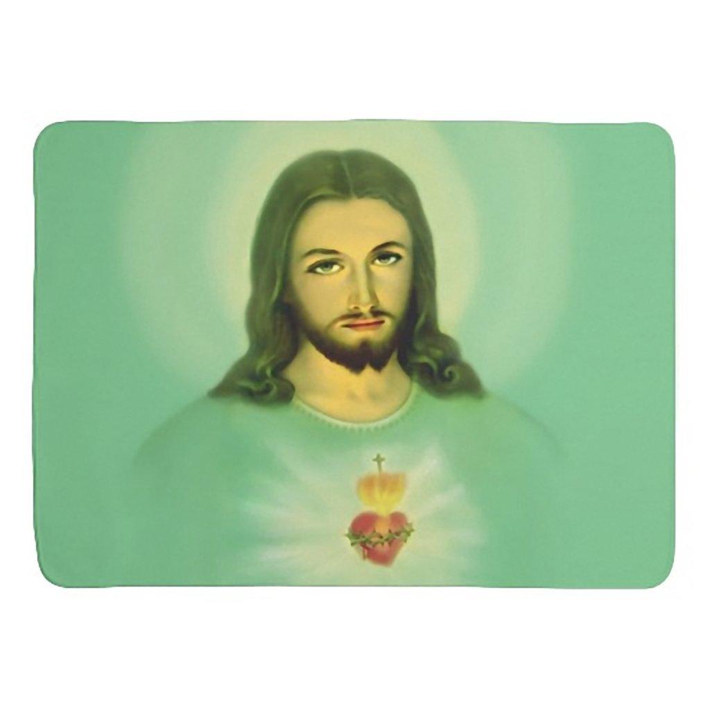 Sacred Heart of Jesus Baby fleece Blanket