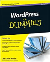WordPress For Dummies, 3rd Edition Front Cover