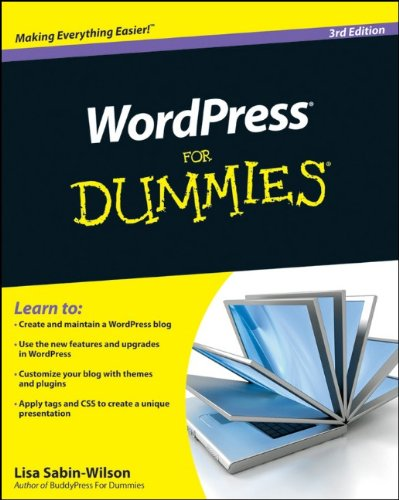 WordPress For Dummies, 3rd Edition by Lisa Sabin-Wilson, For Dummies