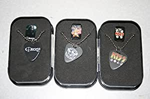 Guitar Pick Necklace with Rock Artist Logo on Pick and Collector Box (Lynyrd Skynyrd)