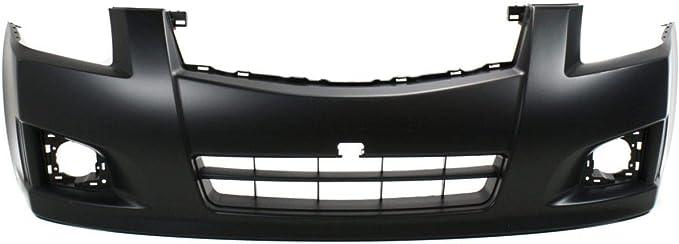 NI1000262 Primered Front Bumper Cover Fascia for 2007-2012 Nissan Sentra SE-R SR w//Fog 07-12 MBI AUTO
