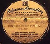 WNBC Radio Programme ''Honeymoon in New York'' Original Transcription Disc Set. (1947)