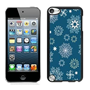 Provide Personalized Customized Christmas Snowflake Black iPod Touch 5 Case 10