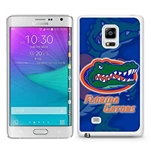 High Quality Samsung Galaxy Note Edge Skin Case ,Southeastern Conference SEC Football Florida Gators 3 White Samsung Galaxy Note Edge Screen Cover Case Popular And Unique Custom Designed Phone Case